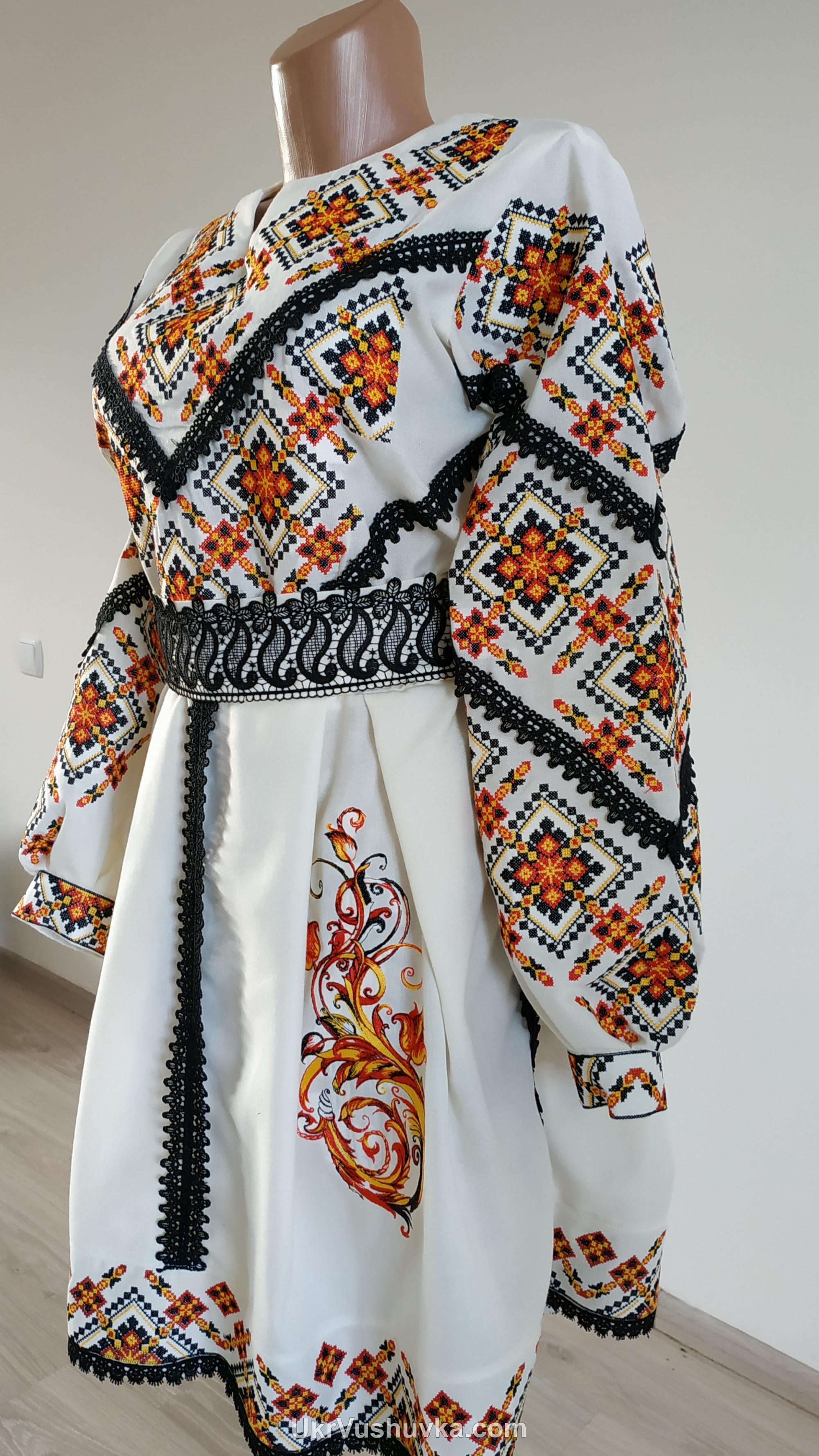Вишита сукня (арт. 5007) • купити в Україні e776186a108db